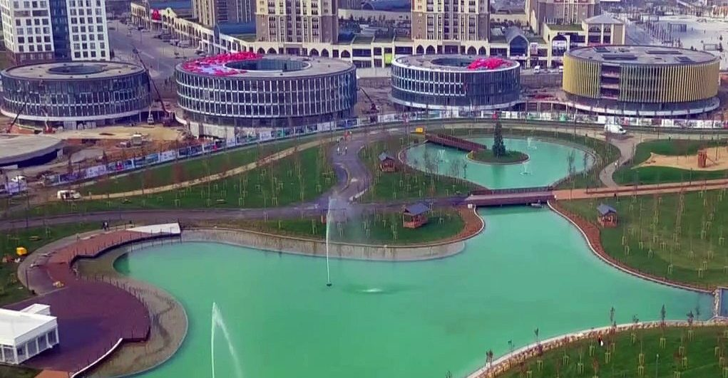 حديقة باشاك شهير الجديدة